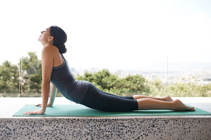 easy yoga positions