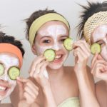 Summer green masks